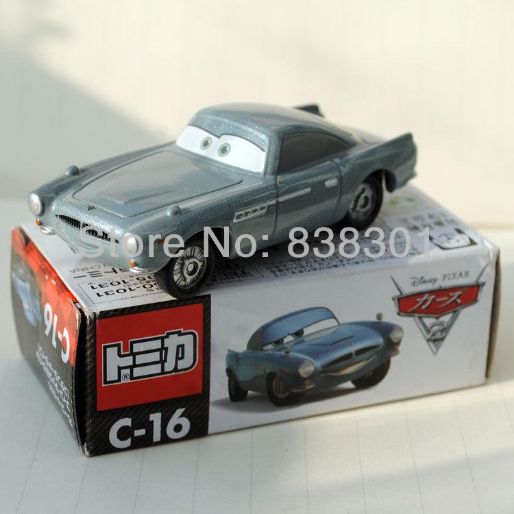 Brand New C-16 Pixar Cars 2 Diecast Metal Toys Finn McMissile Aston Martin DB5 Car Toy In Box(China (Mainland))