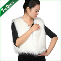 New Arrived Women Fashion Faux Fur Coat Women Warm Coat Women Fur Jacket White Outwear RFC0017