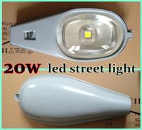 4pcs X  20W COB LED Street Light Waterproof IP65 High Strength Aluminum Road Lamps 2 years Warrenty Fedex Free Shipping