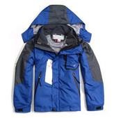 Children Outerwear Outdoor Winter Jacket For Boys Girls Kids Ski Skiing Jackets With Hoodies Waterproof Coats Fleece Inner