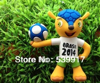 Wholesale 10pcs/lot 2014 world cup gift high speed New football pet model usb memory stick pen drive ! free shipping
