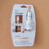 For Samsung Galaxy Note 3 Car Charger 5V 2A Premium In-Vehicle Charger For Galaxy Note III With Cable