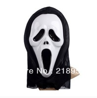 Free Shipping Costume party supplies Halloween masks Ghost masks skull a face mask Terrorist mask