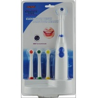 Free shippingRetail Fashion 4 Color Electric Revolve Toothbrush With 4pcs Toothbrush Head And Base (SX-6800)