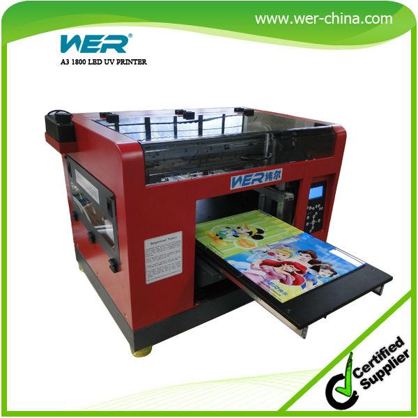 newest white ink with 5760dpi printer mutifunction uv flatbed plotter(China (Mainland))