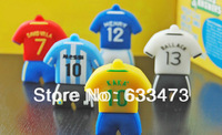World Cup commemorative Barcelona jerseys USB  flash drive cute and popular Football Real Madrid usb stick   8G 16G