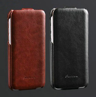 Crazy Horse leather flip case for iphone5C Original G-source leather cover for iphone 5c + screen protector as free gift