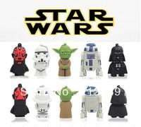 Funko Selling!Wholesales New Cartoon Star wars Series models usb 2.0 memory flash stick pen thumbdrive/disk