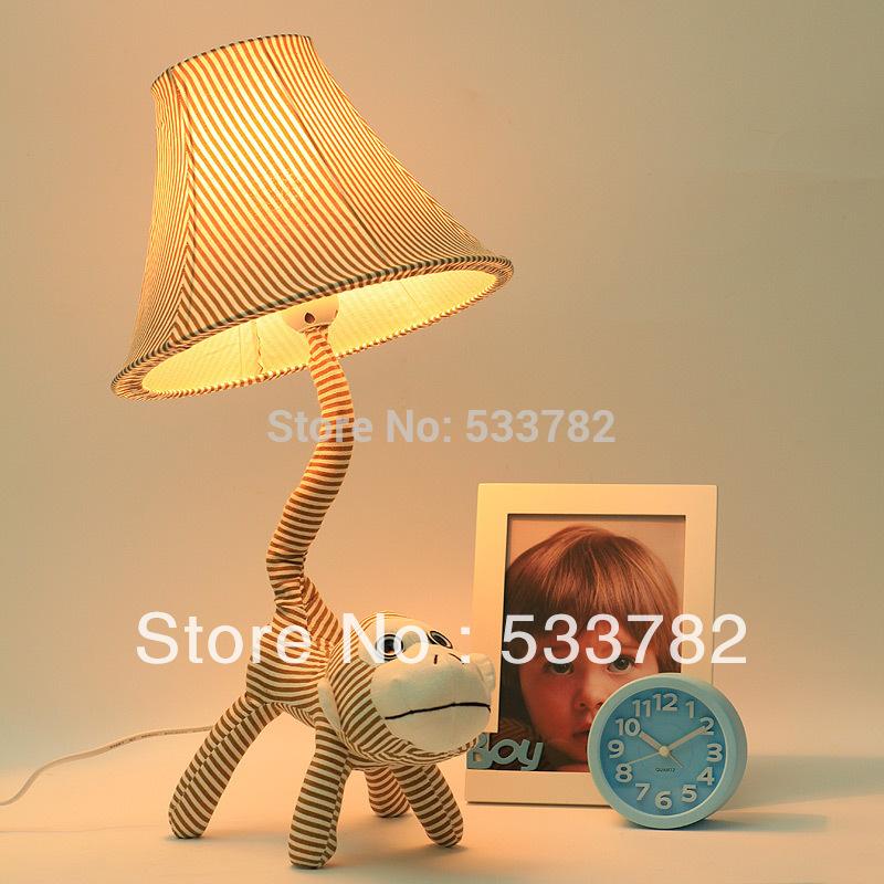 Monkey Table Lamp Decoration