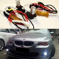 Free shipping CREE White No OBC 9006 LED Fog Light Bulb for BMW E60 BMW 5-Series 2003-2007