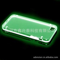 Fluorescent mobile phone protection shell glow luminous case edge for for iphone 5c