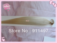 "Grade 5A new product 18""20""22""24"" I-tip hair Pre-bonded hair #60 100% brazilian remy hair extensions 100s/pack 1g/s in stock"