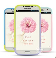 For SAMSUNG I9500 phone case combination bumper s4 protective case for I9502 I959 I9508