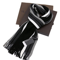 Yarn scarf muffler thermal scarf female and male autumn winter scarf boys female male scarf