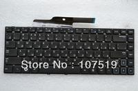 Free Shipping For Samsung NP300 300V4A 300E4A NP300V4A NP300E4A E4A V4A laptop black keyboard RU  version