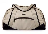 Medium size PU leather Nylon patchwork men travel bags for women sport bag malas de viagem femininas 46.5*23cm