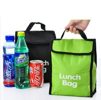 Min. order is $10(mix order) 1 semiportable portable thermal bag insulation package boxes fresh bag lunch bag lunch bags e766