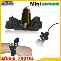 Free shipping !  mini Door Eye Pinhole Security Color CCTV CameraWith audio