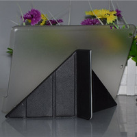 Shapes PU Leather case for iPad 5 Smart cover with Stand Magnetic Thin Flip, Free Stylus for every piece  free shipping