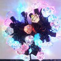 Christmas lights decoration 12V-240V full color night light flower decoration diamond led star lighting string 5 m/lot