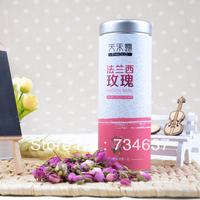 Free shipping,50g New arrival herbal tea,French rose tea,fresh rose bud