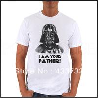 Vader star wars mens t-shirt / mens short-sleeve  t shirts  / 2013 mens sport casual t shirt,
