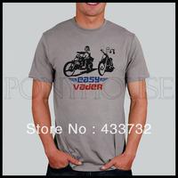 Funny easy vader star wars mens tshirt  short-sleeve t-shirt   / 2013 mens sport casual t shirt