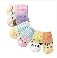 Children's cartoon straight socks wholesale han edition animal model is the baby socks