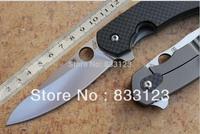 New Spyderco C156GPBN Brad Southard 3.46 CTS-204P Carpenter Steel Blade Carbon Fiber Handle tactical folding knife Free shipping