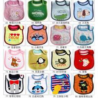 2013 New Water Resistant Baby Bibs Zoo Infant Saliva Towels Cartoon Waterproof Burpcloths Animal Nneckerchief Free Shipping
