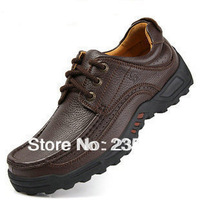 New  Casual Men's Genuine Leather Shoes SIZE;  us 6  - us 10