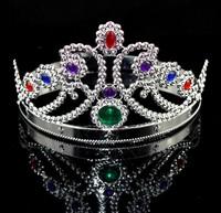COS Kings Crown Dancing Party Headgear Queens Head Loop Princess Tiara Headband Multi-styles Optional