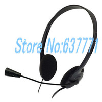 Microphone Computer Headphone Headset Earphone For PC Laptop MSN Skype QQ Chat