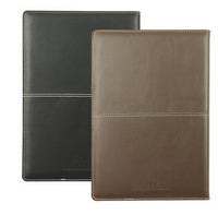Lackadaisical 3323 senior commercial notebook pvc the leather notepad diary 250 175mm diary book