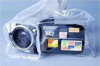 pvc zip bag waterproof for Digital Video underwater dry bag for DV in swimming surfing diving