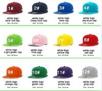 hip hop men's and women's baseball cap hat color hip-hop hip-hop flat cap free shopping