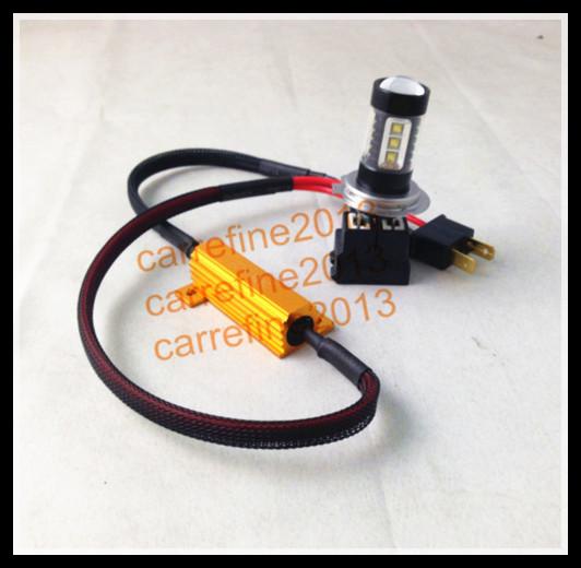 6pcs *50W 6 Ohm 6R H8 H9 H11 Canbus Error Free Resistor LED Decoder Warning Error Canceller For LED Fog Light Headlight(China (Mainland))
