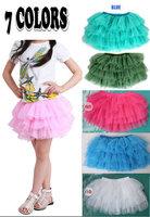Baby Girls Toddler Kids Tutu Skirt Ballet Dance Costume Party Dress age 2-10