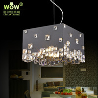 Wow dining room pendant light fashion bar crystal lamps modern brief lighting personalized pendant light