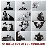Free Shipping Part D Different Designs Vinyl Decorative Sticker for macbook Sticker Skin Decal