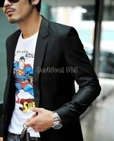 Newest Mens slim fit Jacket casual Suits Blazers fashion Business Blazer Coat Button suit men Formal suit jacket Wholesale 18516