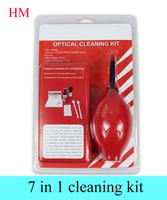 2015 new 7 in1 Cleaning Kit  lens pen camera pen  cleaning cloth lens air blower  lens cleaning kit lens cleaner  for SLR Camera