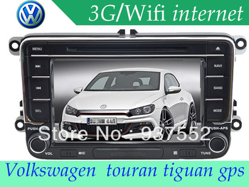 2013 New  2 DIN Car DVD player for VW Volkswagen polo jetta golf5 golf6 passat touran tiguan GPS navigation with canbus
