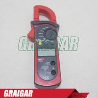 UNI-T UT200A LCD Digital Clamp Multimeter Ohm DMM DC AC Voltmeter AC Ammeter