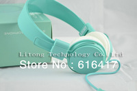 Phone headset with a microphone headset trend of girls cute big headphones headset call free shipping