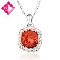 Neoglory Crystal Long Necklace Pendant for Women Wedding Jewelry 2013 Fashion New