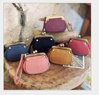 Vintage buckles change bag lovely Bag Bohemia handbag mini bag ladies wallet bag free shipping