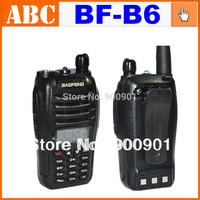 Professional Baofeng UV-B6 VHF/UHF Dual Band Two Way Radio Walkie Talkie 136-174/400-470Mhz 5W Support FM for radio amateur