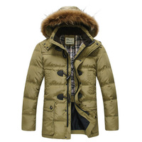 2013 New Men's Jackets Brand Down Jacket Man's Coat for Winter Autumn Cotton Padded Outdoors Sport Coat Sales and Free shipping