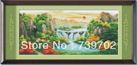 Landscape -- Handmade cross-stitch finished products Sale